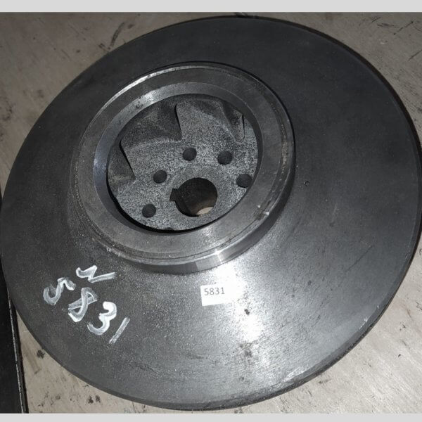 КО-829А.42.01.200Z Колесо рабочее (крыльчатка) (д.отв.25 мм.) (НЦ 60/125)