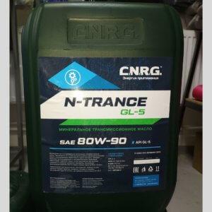 Масло GL-4 80W90   трансмиссионное масло.